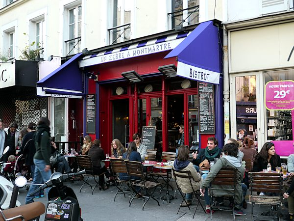 les bistrots de montmartre. Black Bedroom Furniture Sets. Home Design Ideas
