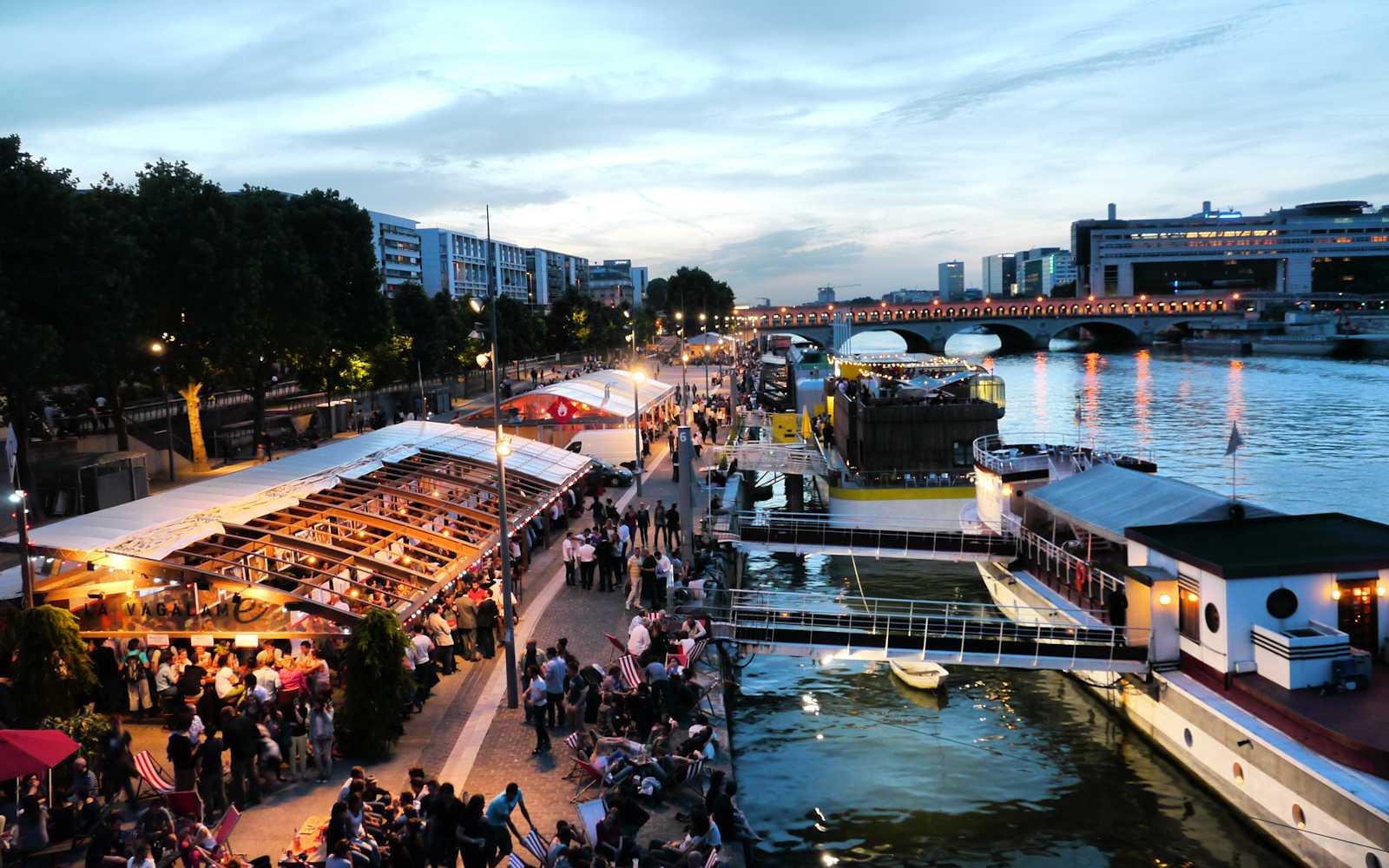 Port de la gare - Restaurant les terrasses du petit port nantes ...
